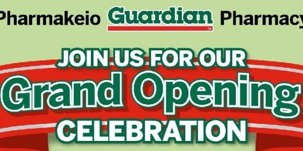 Guardian Pharmakeio Grand Opening